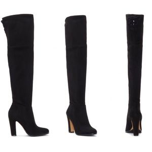 NEW Vince Camuto Cheera Suede Over the knee Boot
